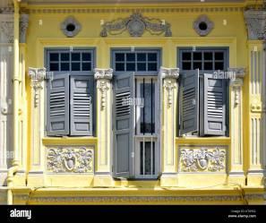 Casas Color Amarillo Exterior