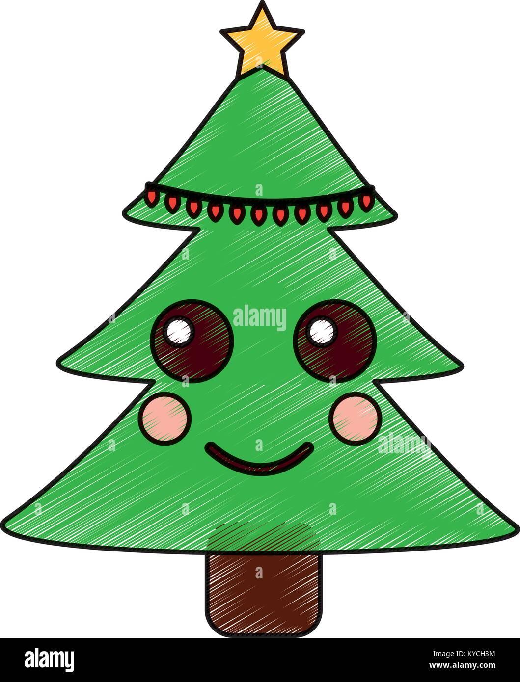 Kawaii Navideños Paso Muy Dibujo Navidad Wwwperfectoimagenescom
