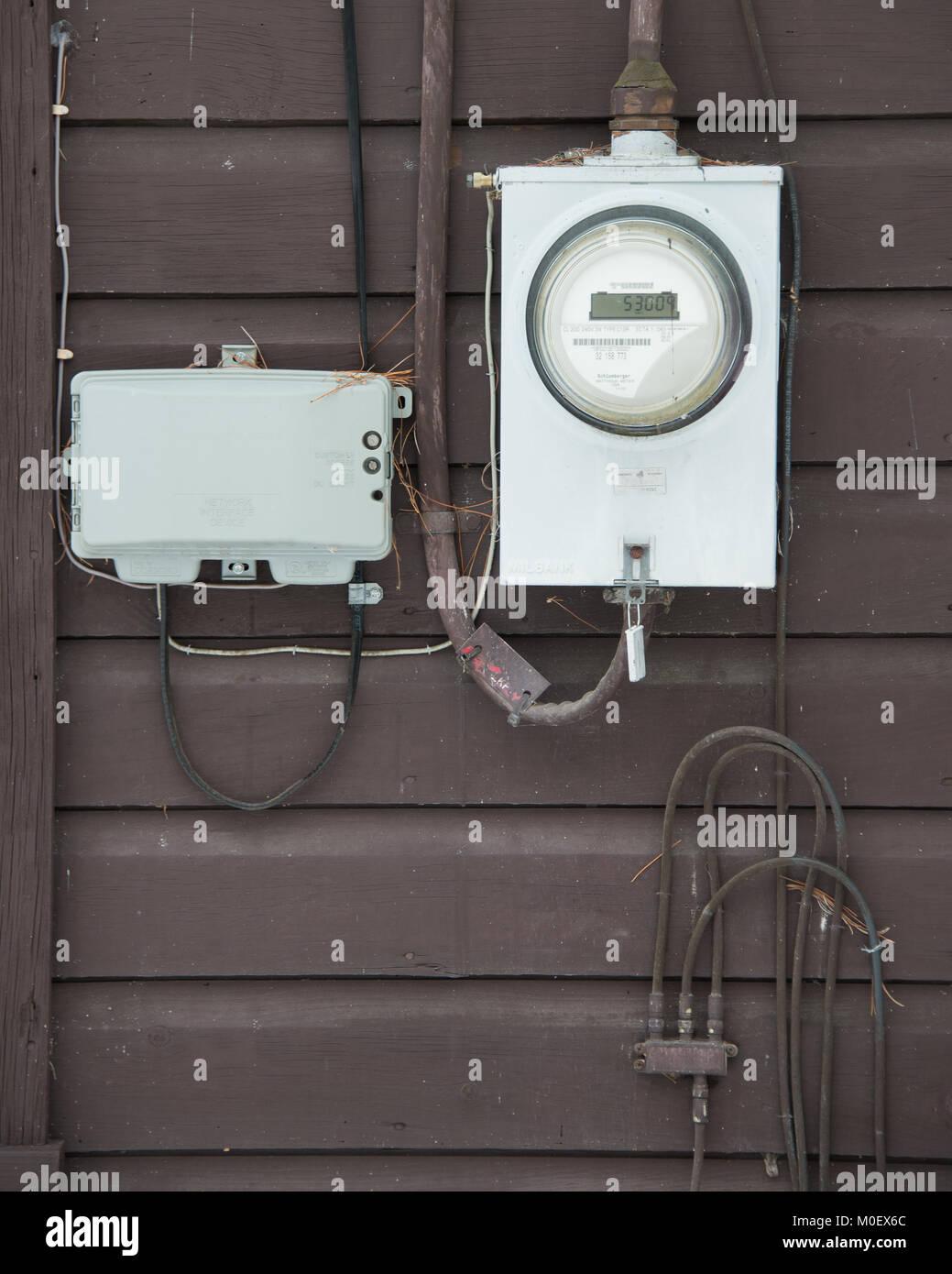 Caja Contador Electrico Exterior Top Tapas Y Cajillas