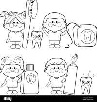 Encantador Higiene Personal Para Colorear Festooning ...