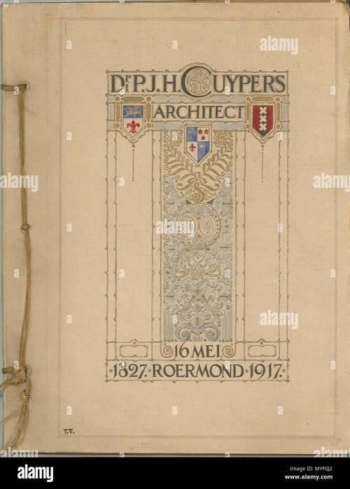 small resolution of nederlands receptieboek verjaardag bij cuypers 90e 1917 papier karton inkt