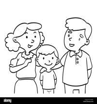 Dibujo Abrazo En Familia Para Colorear Dibujo De Abrazo Con Mam