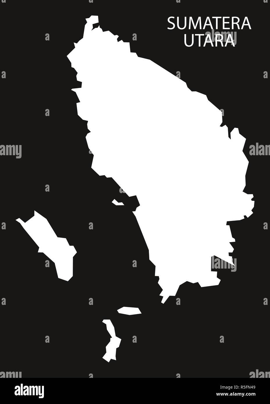 Peta Indonesia Siluet : indonesia, siluet, Sumatra, Utara, Indonesia, Invertido, Forma, Ilustración, Silueta, Negra, Fotografía, Stock, Alamy