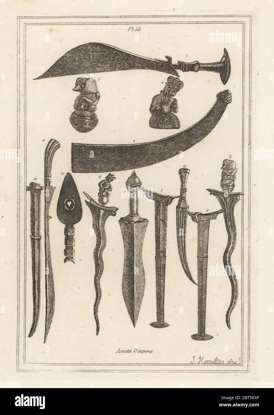 Poignard Malais En 5 Lettres : poignard, malais, lettres, Dagger, Banque, D'image, Photos, Alamy