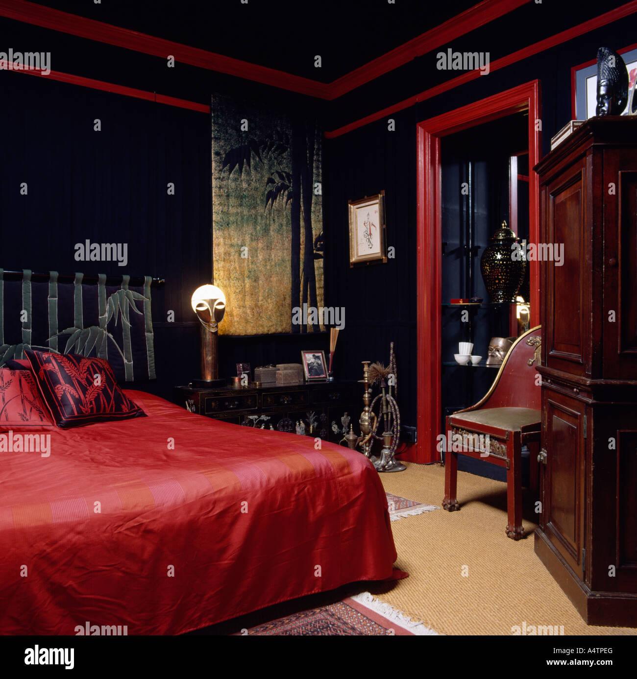 Décoration Chambre En Rouge