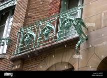 Hippocampe 'ornement ' Balcon Castel Ranger L