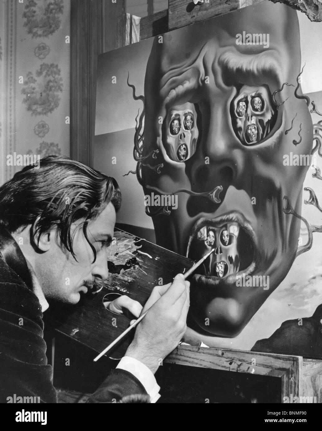 Le Visage De La Guerre Dali : visage, guerre, SALVADOR, (1984-1989), Artiste, Espagnol, Travaillant, Tableau, Visage, Guerre, États-Unis, Description, Ci-dessous, Photo, Stock, Alamy