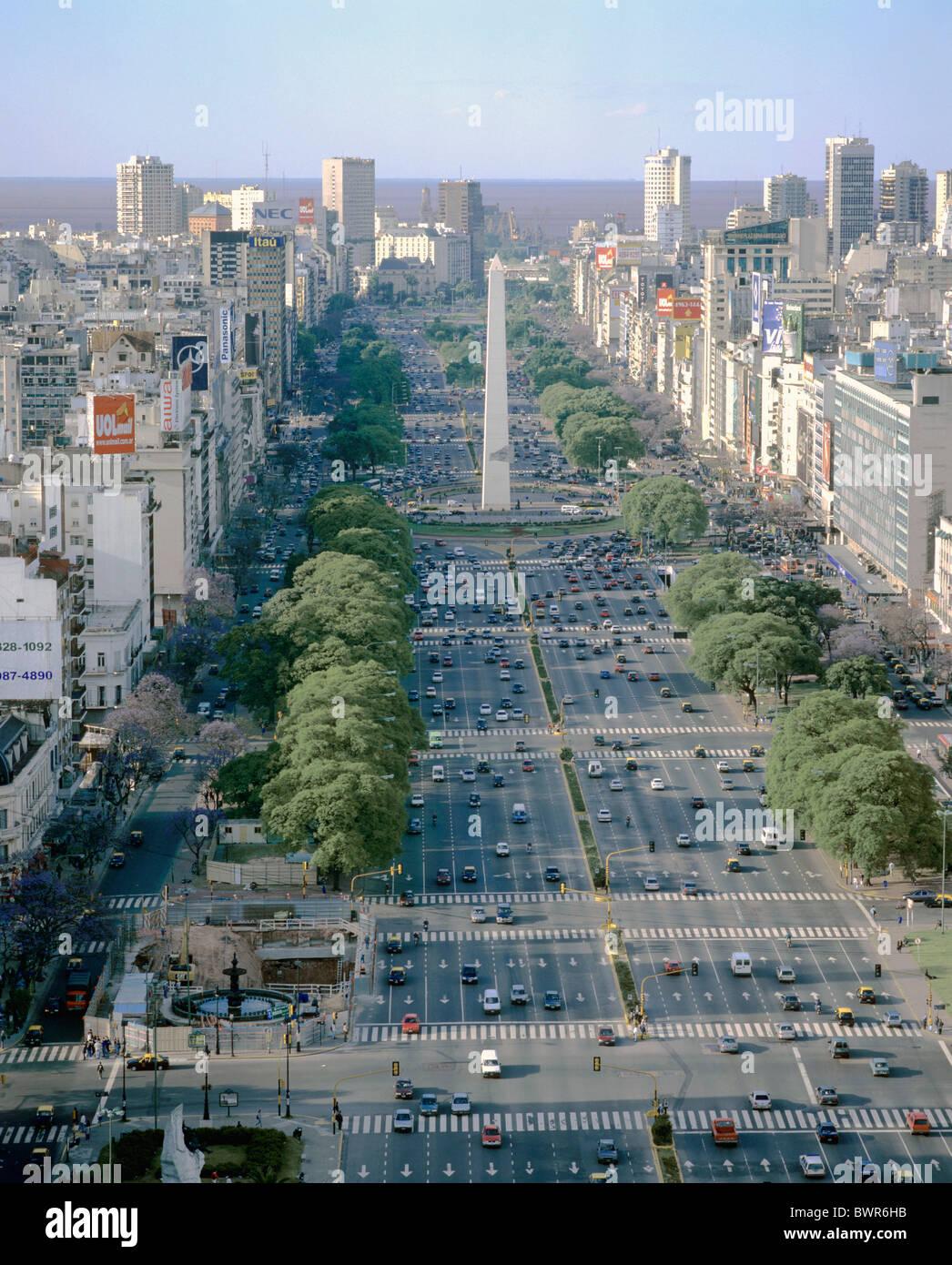 Large Julio Argentine Buenos La La Plus Route Du 9 Monde Aires De