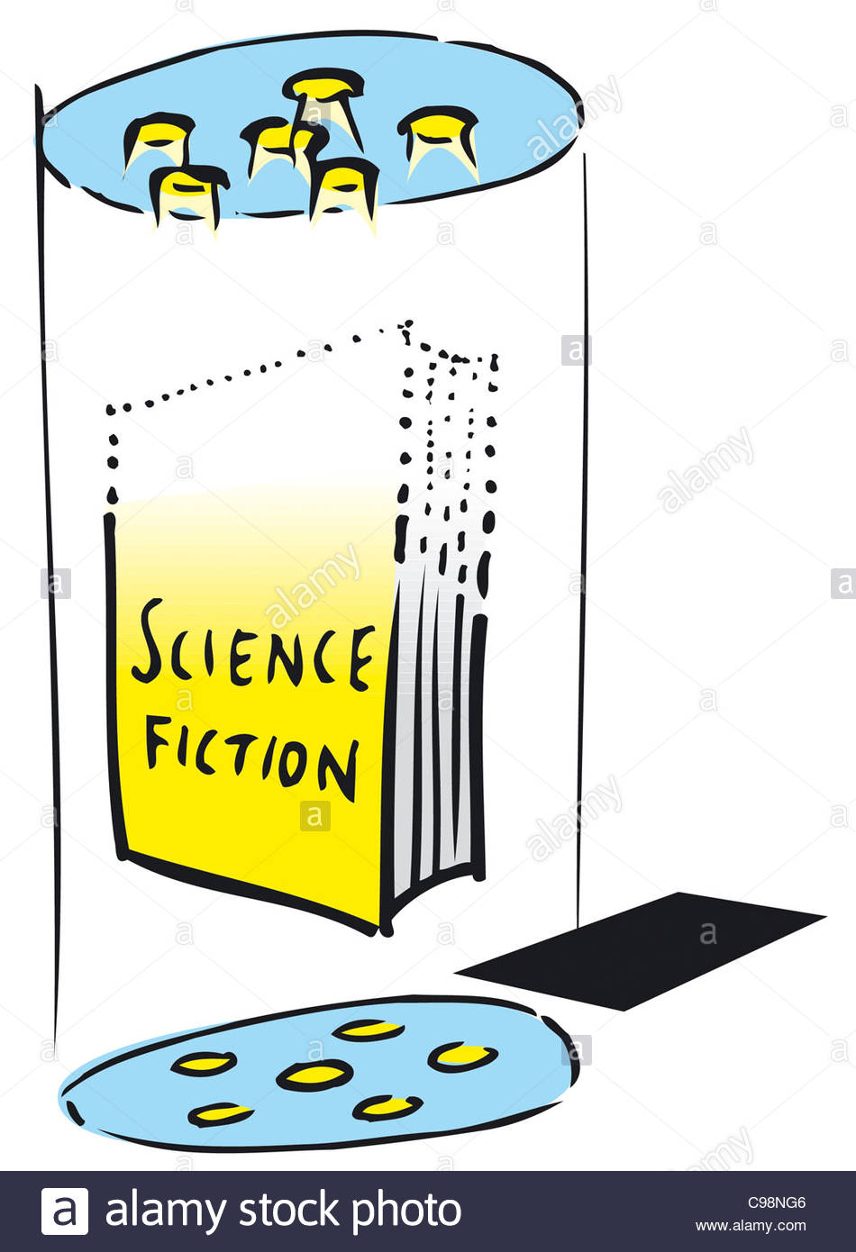 hight resolution of livre science fiction lektre lire les lecteurs lecture bookworms bookworm recomme photo stock