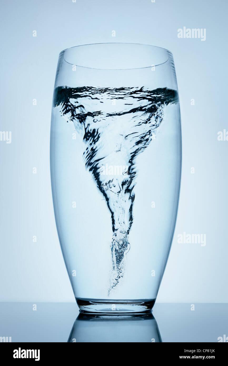 Verre D Eau En Anglais : verre, anglais, Tempête, Verre, D'eau, Photo, Stock, Alamy