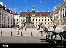 Austria Hofburg Palace Courtyard &