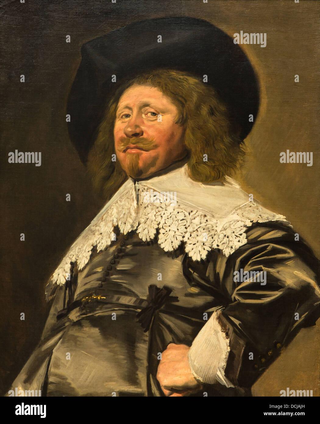 https www alamyimages fr photo image 17eme siecle portrait d un homme peut etre nicolaes pietersz duyst van frans hals 1636 huile sur toile 59410473 html