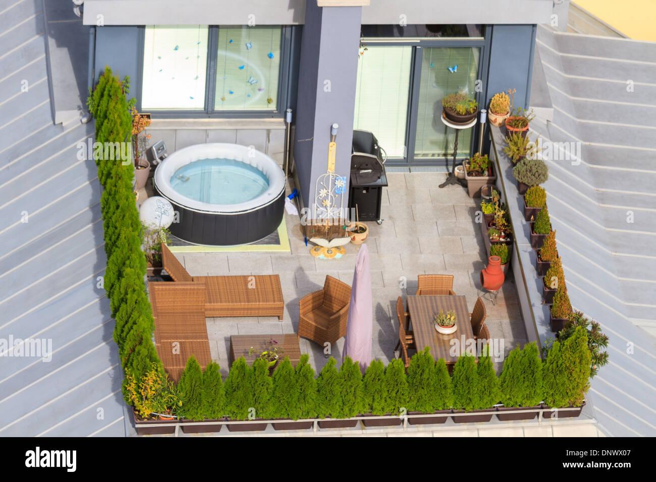 Jacuzzi Terrasse Jacuzzi Terrasse Exterieur Plus Jolie Deco Spa