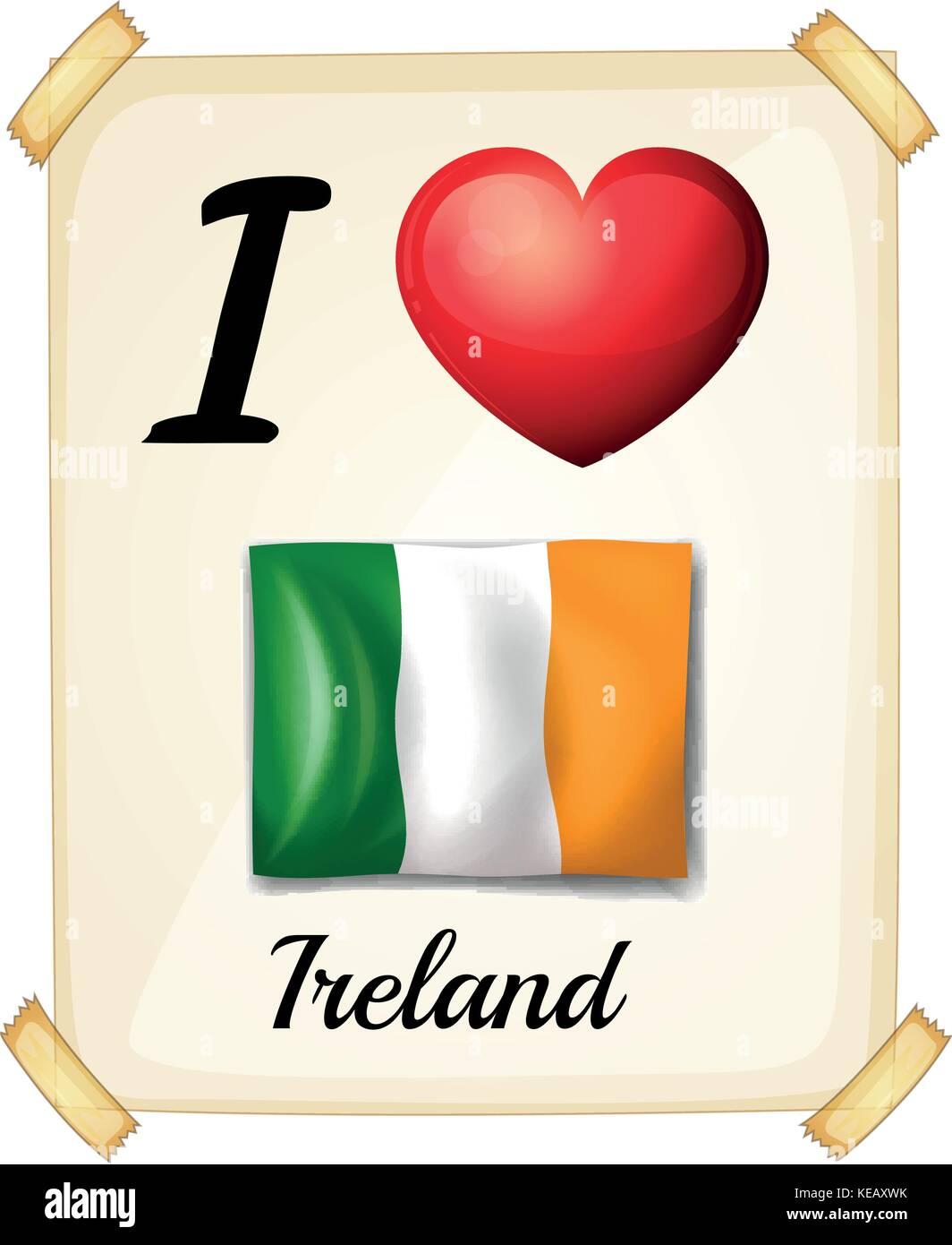 Je T Aime En Irlandais : irlandais, Ireland, Banque, D'image, Photos, Alamy