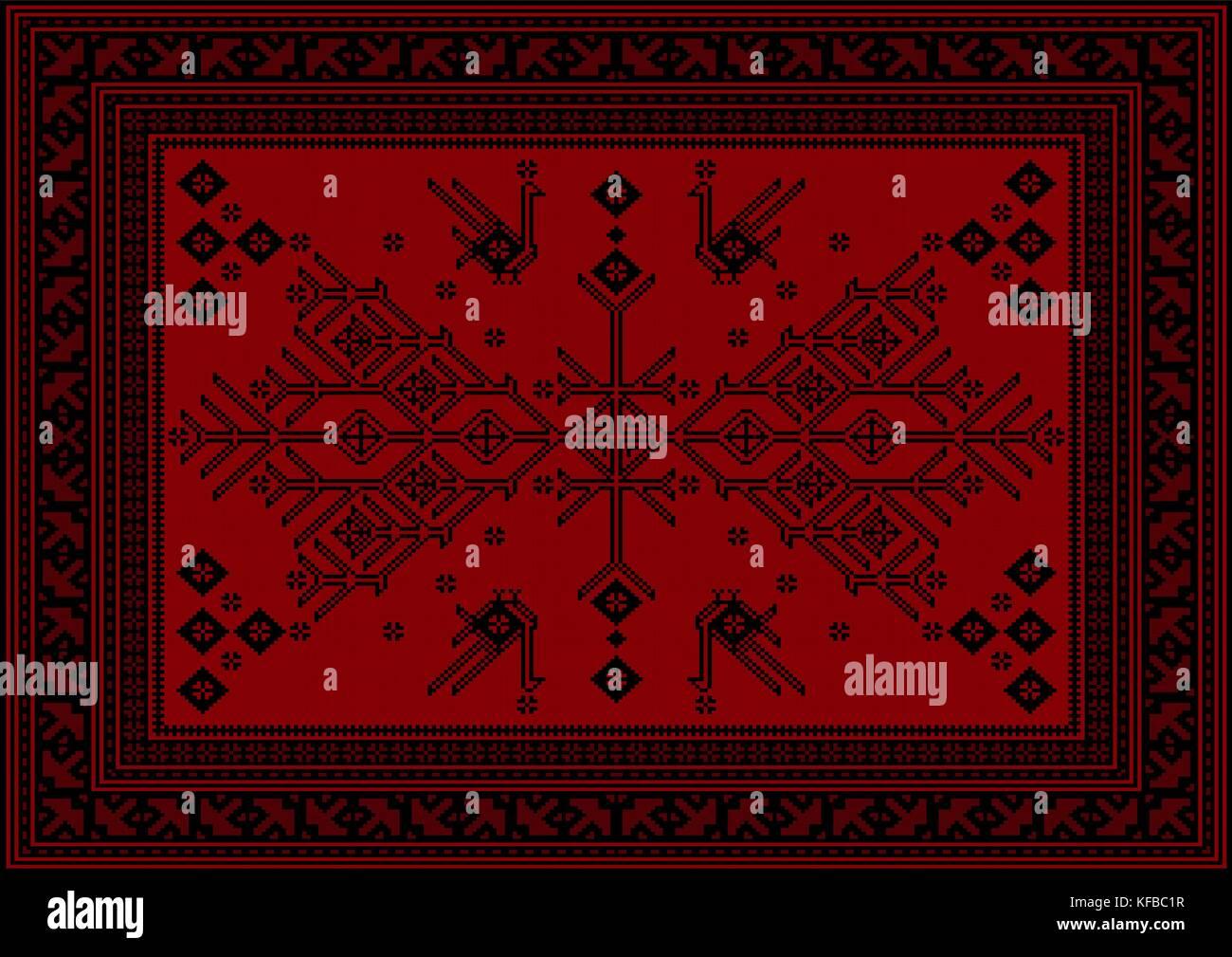 Tapis Marron Et Rouge   Couleur Lin Peinture Beige Sable Tapis Rouge ...