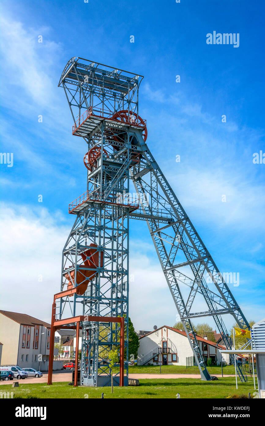 Mines De Charbon En France : mines, charbon, france, L'engin, Bobinage, Fosse, Ancienne, Charbon, Région, Saint-Eloy, Mines,, Dome,, Auvergne,, France,, Europe, Photo, Stock, Alamy