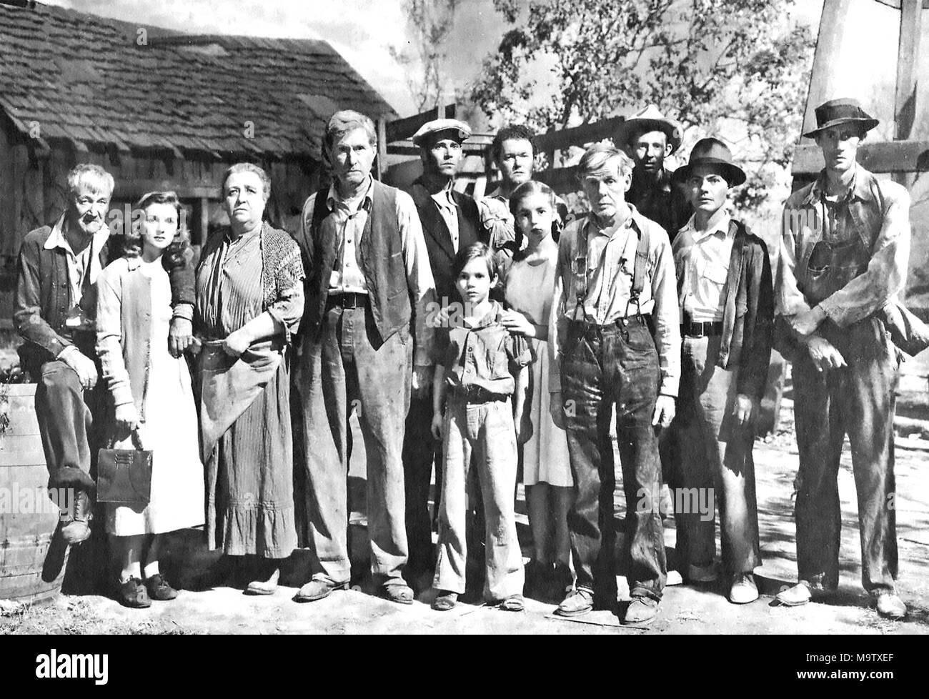Les Raisins De La Colere 1940 Twentieth Century Fox Film