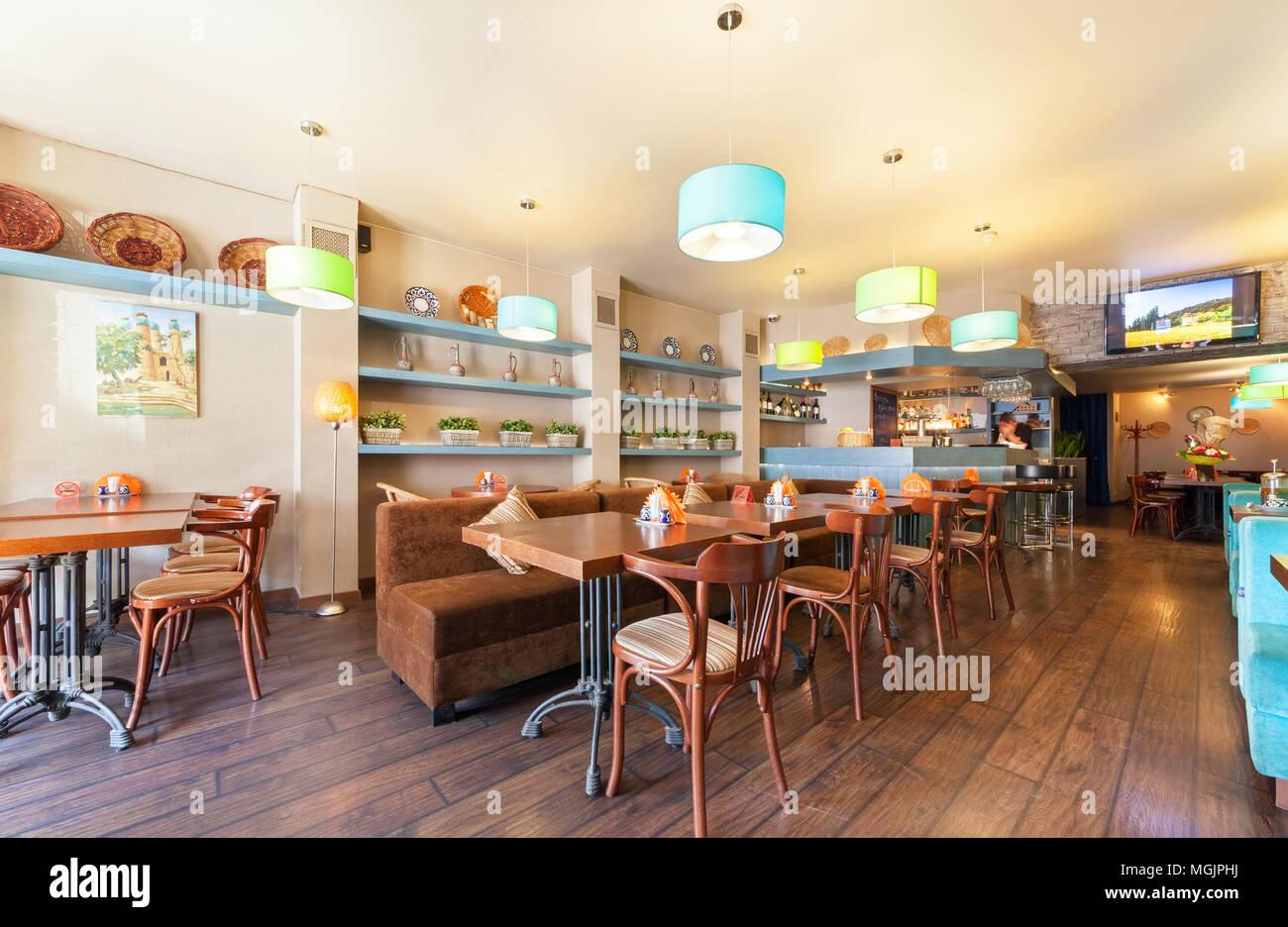 Decoration Interieur D\'un Café
