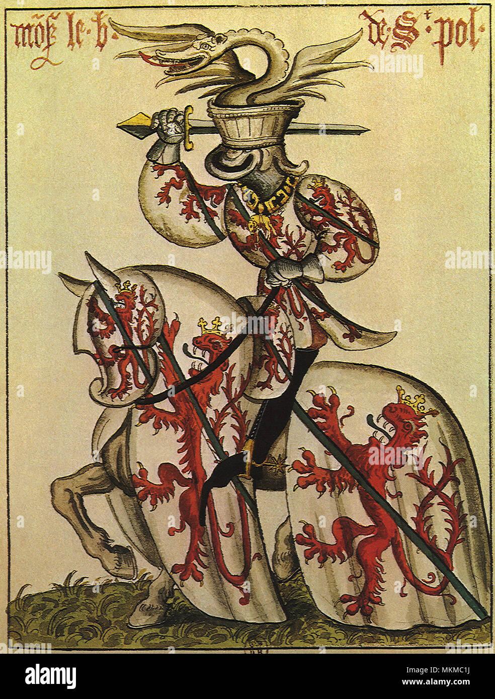 Chevalier De La Toison D'or : chevalier, toison, Chevalier, Toison, Banque, D'image, Photos, Alamy