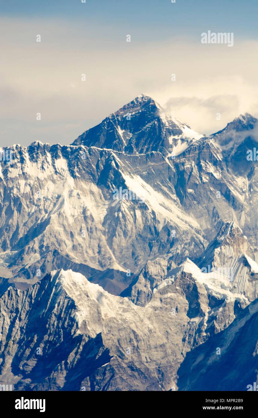 La Plus Haute Montagne Du Monde : haute, montagne, monde, Montagne,, Everest,, Haute, Montagne, Monde,, L'Himalaya,, Népal, Photo, Stock, Alamy