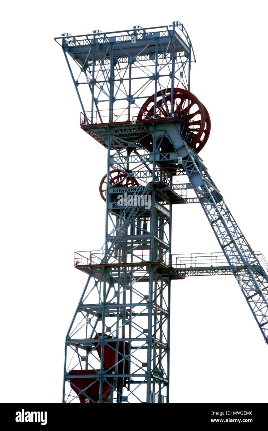 Mines De Charbon En France : mines, charbon, france, Rapport, Bobinage, Ancienne, Charbon, Saint-Eloy, Mines,, Dome,, Auvergne,, France,, Europe, Photo, Stock, Alamy