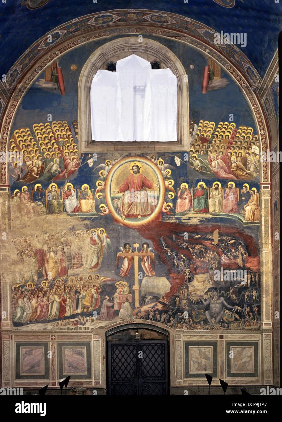 Le Jugement Dernier Fresque De Giotto : jugement, dernier, fresque, giotto, Jugement, Dernier',, 1305-1306, Fresque, Giotto, Photo, Stock, Alamy