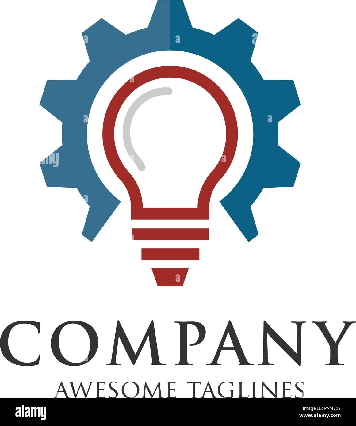 https www alamyimages fr logo de l idee idee de l ampoule logo design ampoule image213121000 html