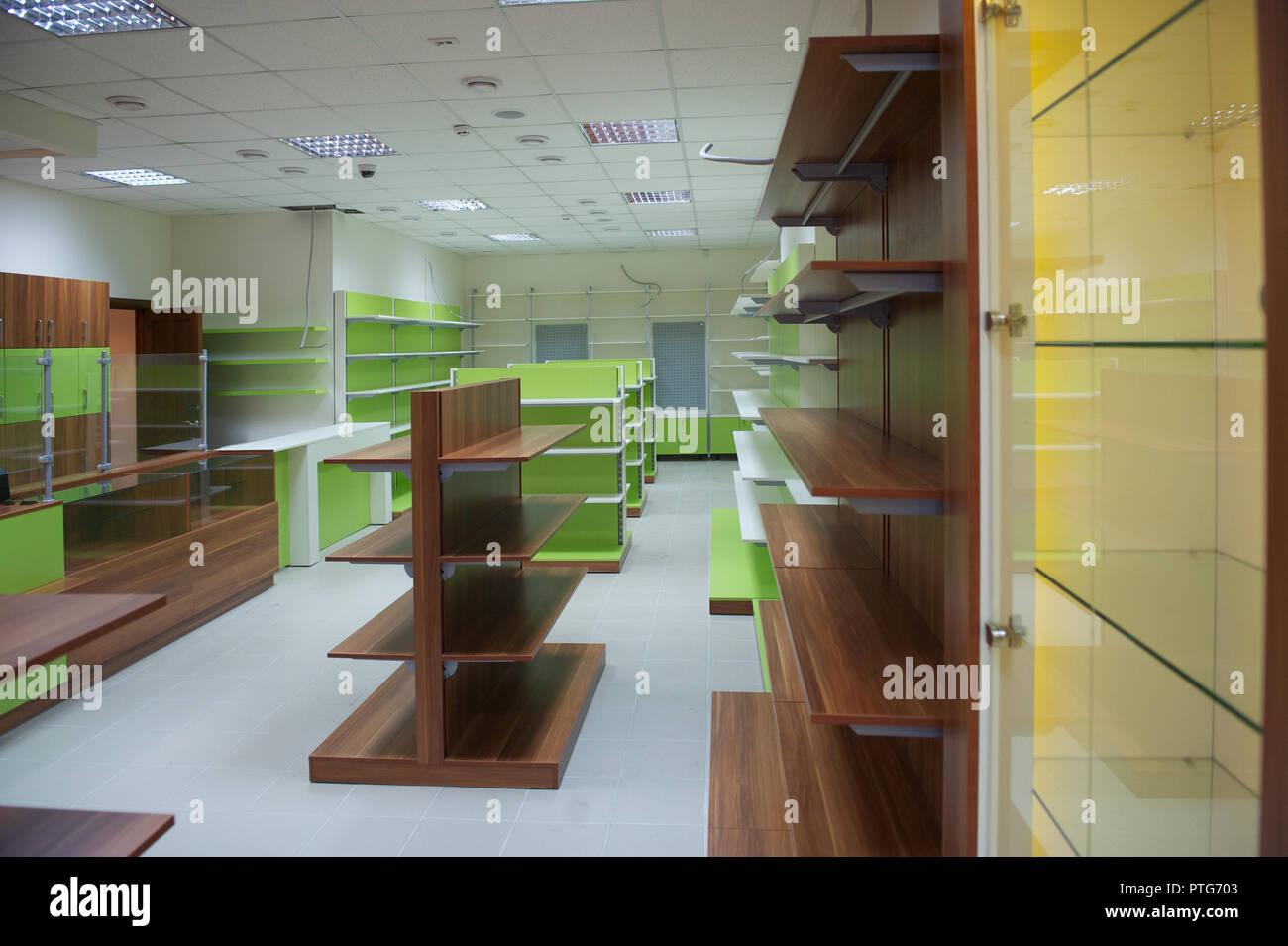 Mobilier Pour Le Magasin Les Rayons Des Magasins Vides Furniture b9df0458f557