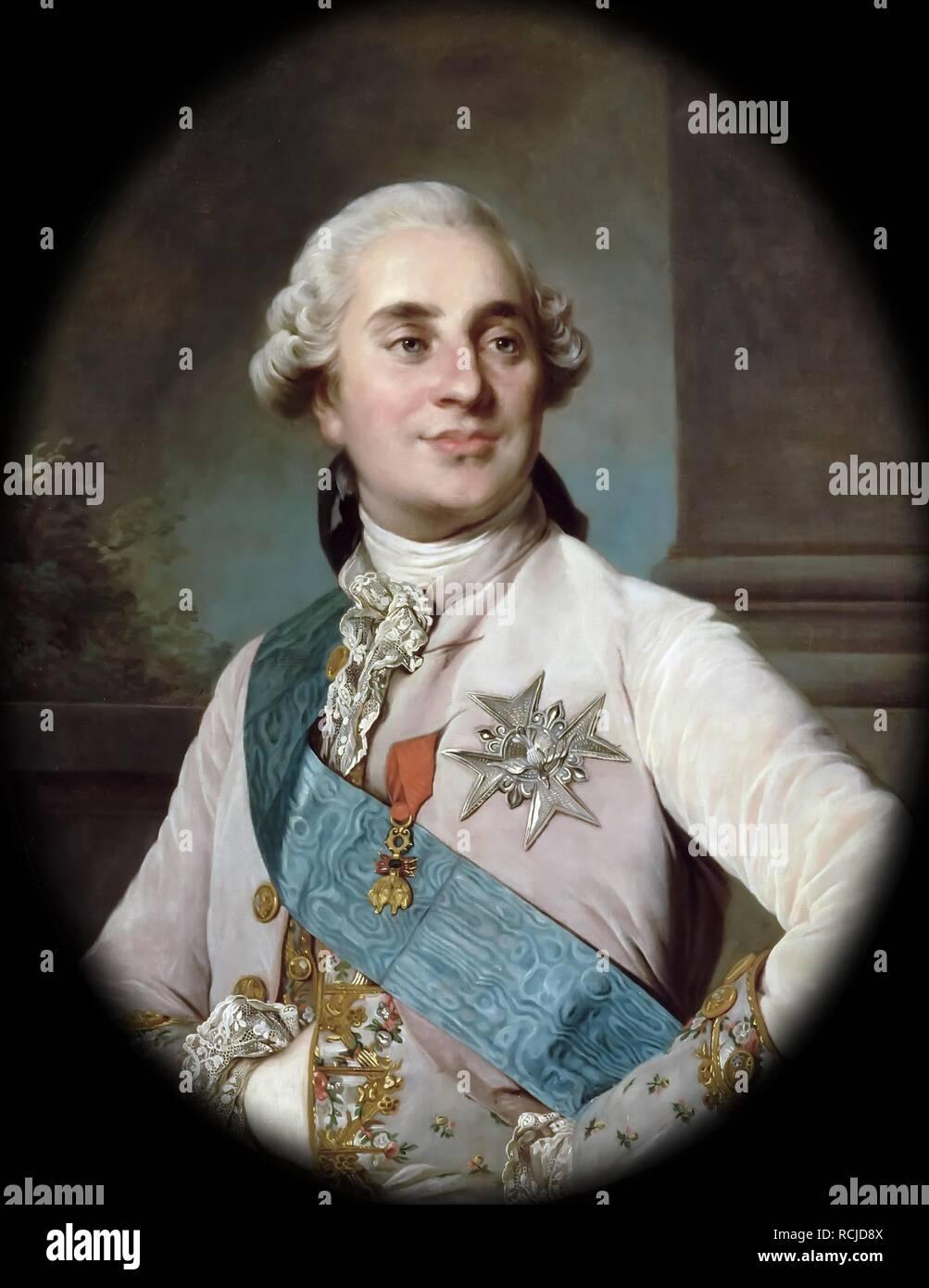 https www alamyimages fr portrait du roi louis xvi 1754 1793 musee musee de l histoire de la france le chateau de versailles auteur lenfant image231516234 html
