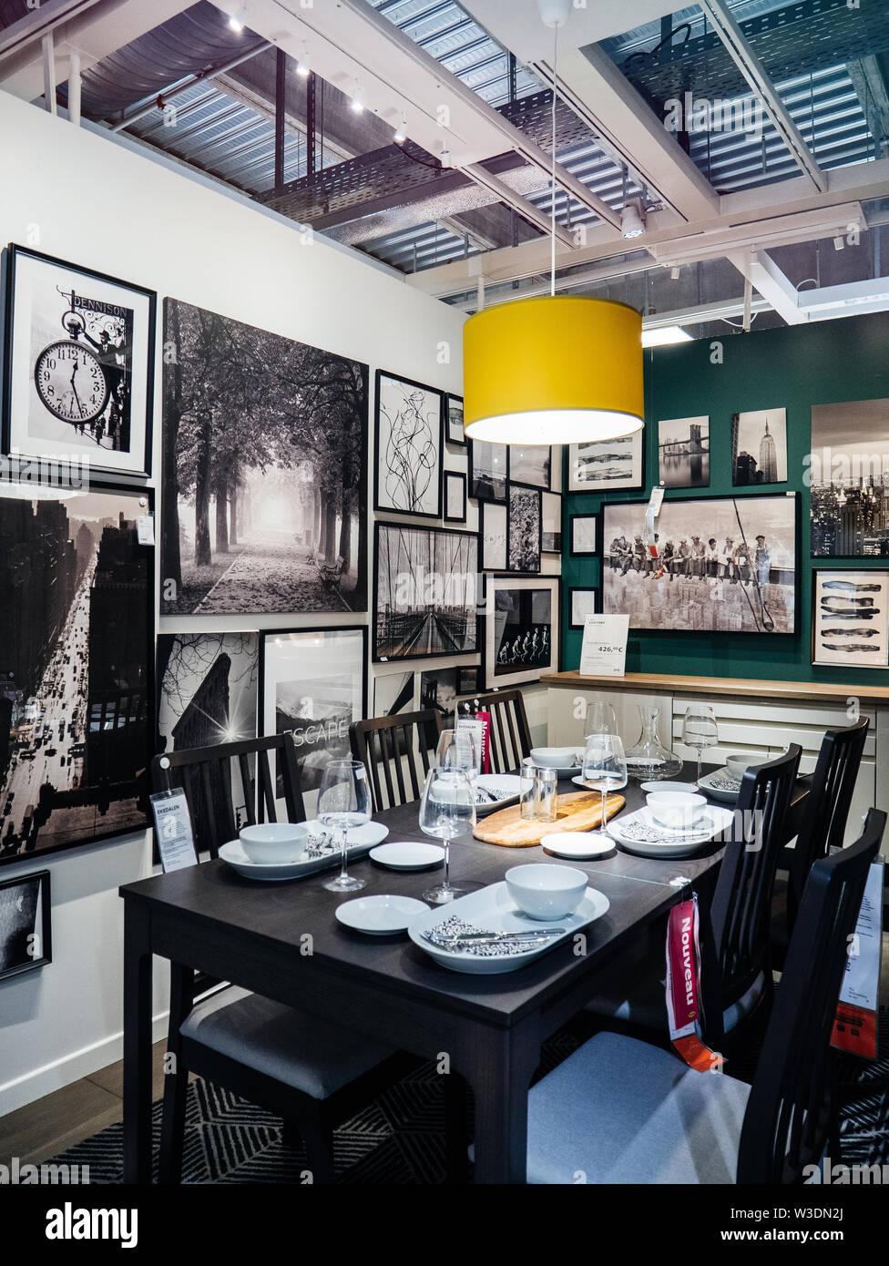 Ikea Table Photos Ikea Table Images Alamy
