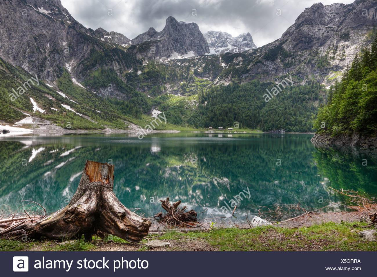ferienwohnungen hillbrand lac gosausee dachstein dachsteingebirge montagnes region du salzkammergut haute autriche