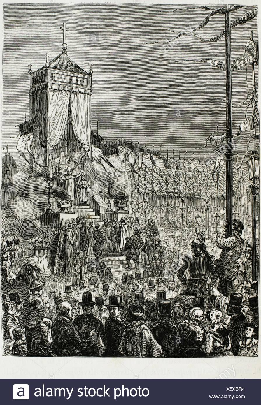 https www alamyimages fr proclamation de la republique fest a paris 19eme siecle france image279019192 html