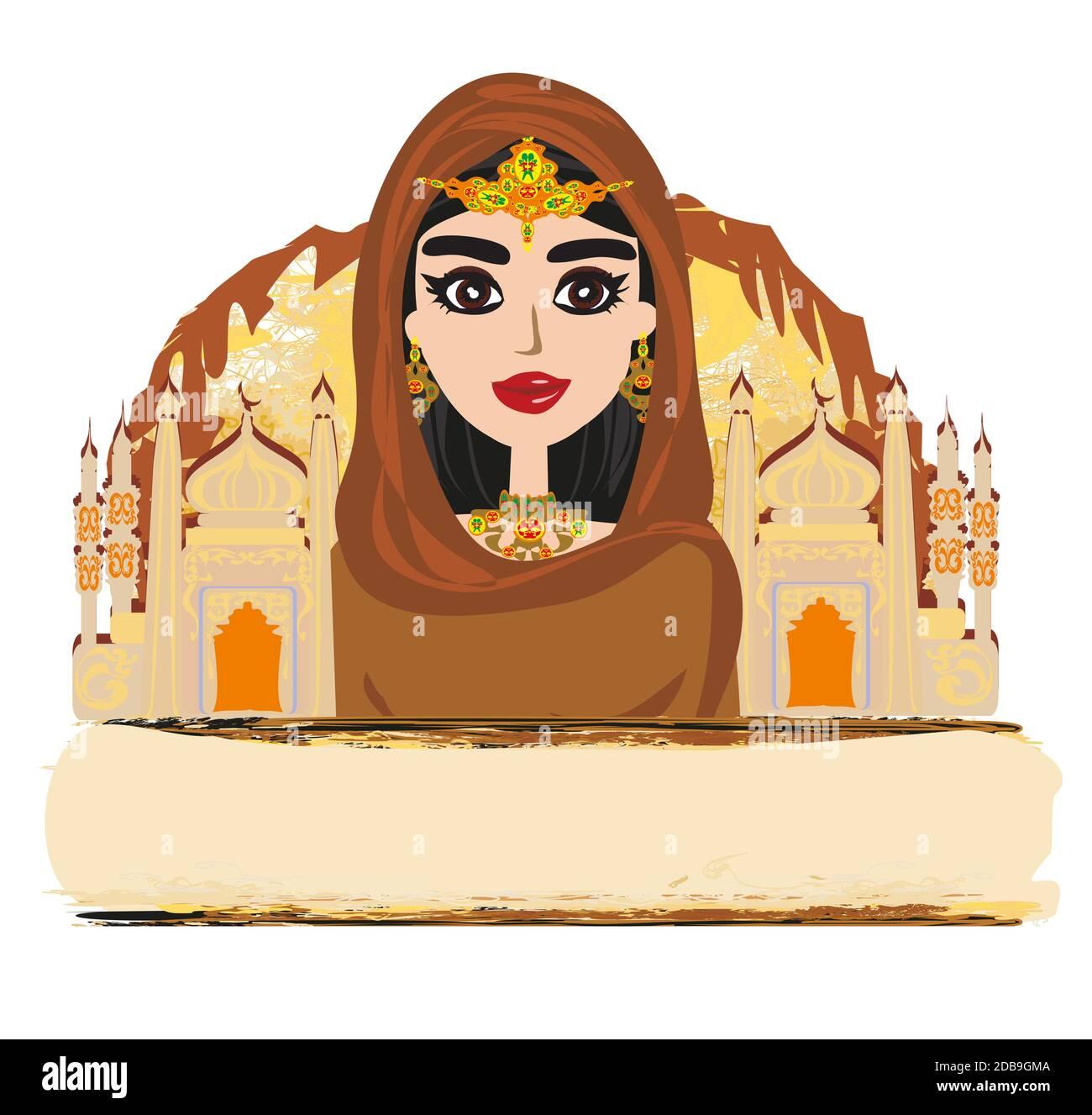 Infatti, alle donne non è permesso di pregare senza l'hijab poiché in un. Cartoon Girl Hijab Immagini E Fotos Stock Alamy