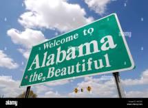 WelcomeSign Alabama the Beautiful
