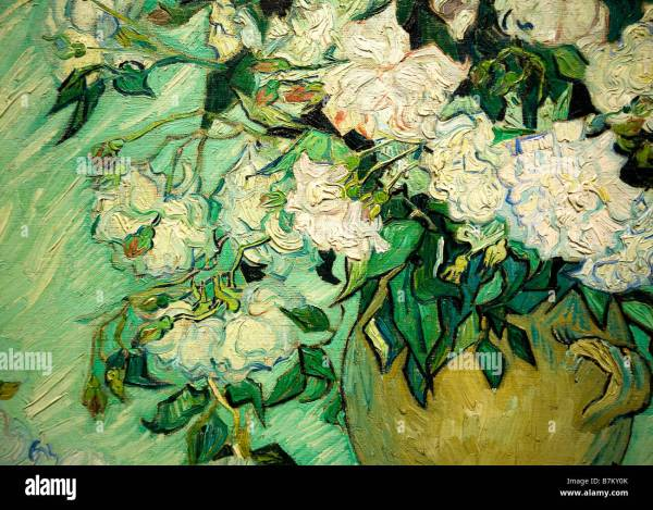 Vincent Van Gogh Paintings Roses