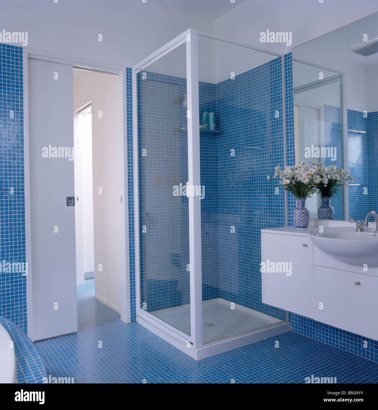 Bagno Doccia Mosaico : Piastrelle bagno mosaico doccia metro quadro chioggia
