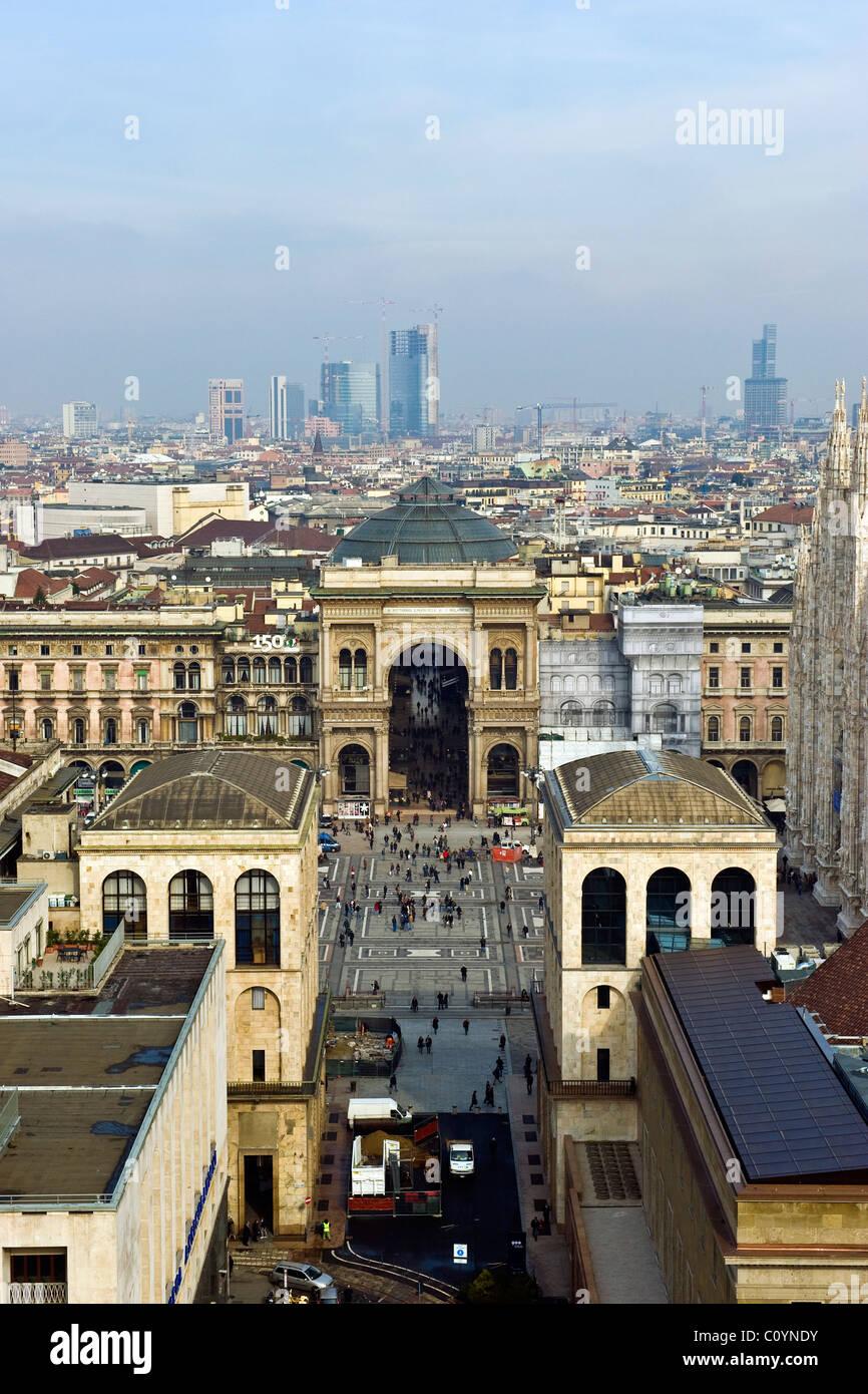 Panorama dalla terrazza Martini Milano Foto  Immagine