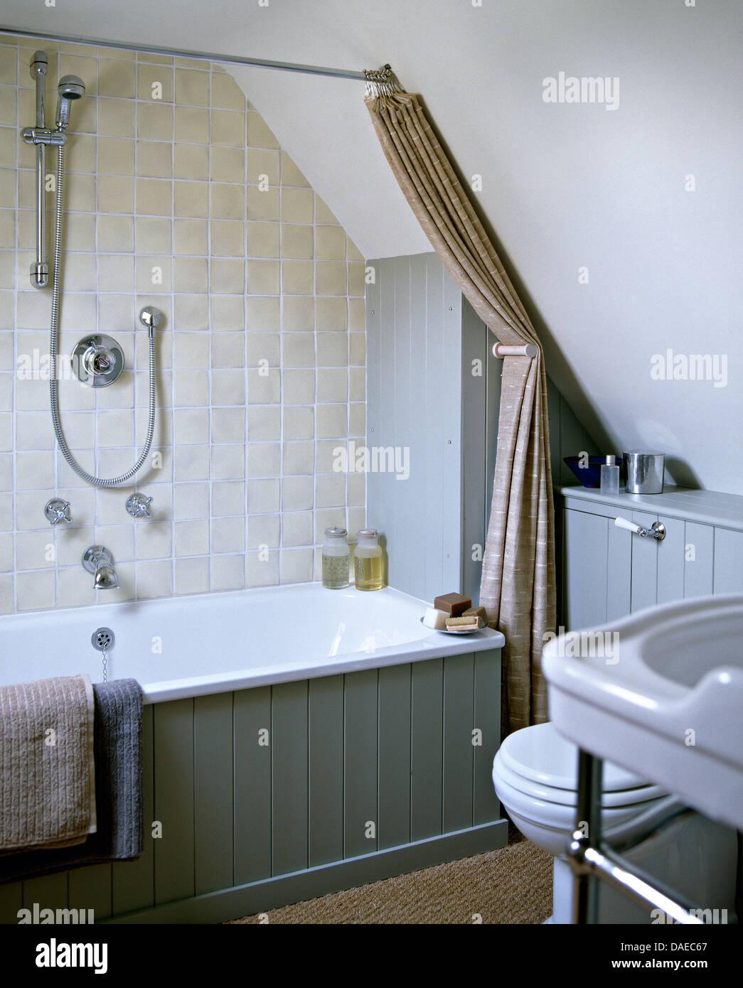 Piastrelle grigie bagni moderni mattonelle per bagno ceramica e