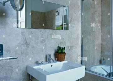 Bagno sul grigio mobile bagno sospeso moderno grigio talpa opaco