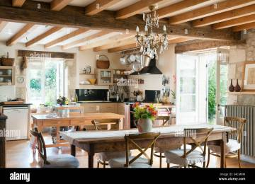 Cucina Stile Francese   Vita Romantica Nella Campagna Francese Blog
