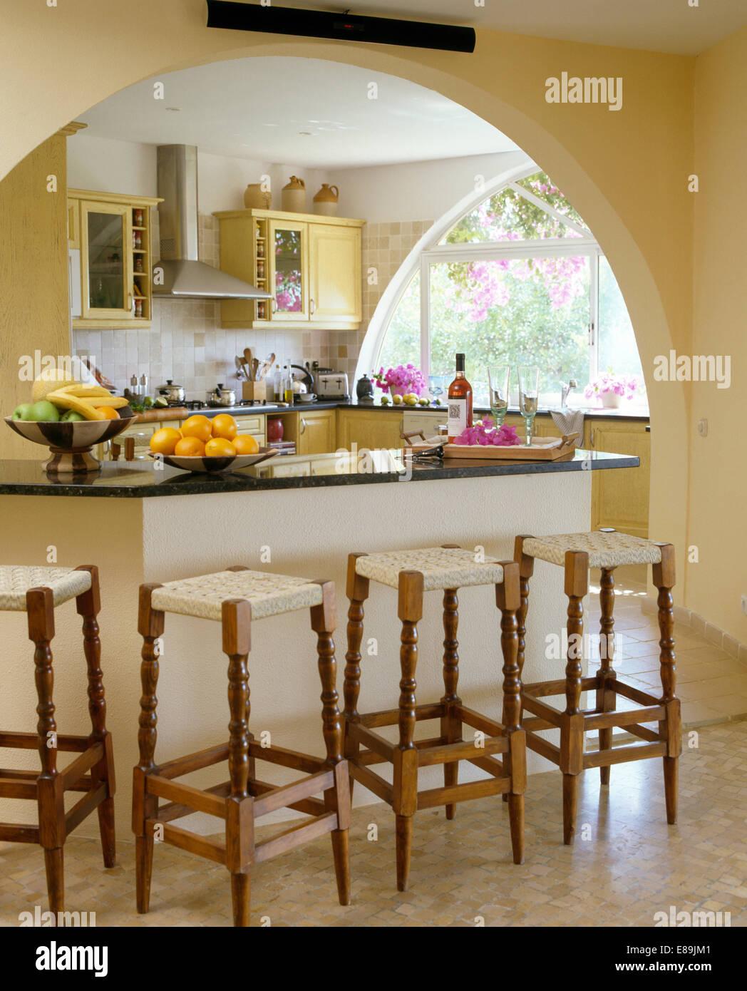 Sgabelli in legno per cucina sgabelli alti sedie da bar in legno