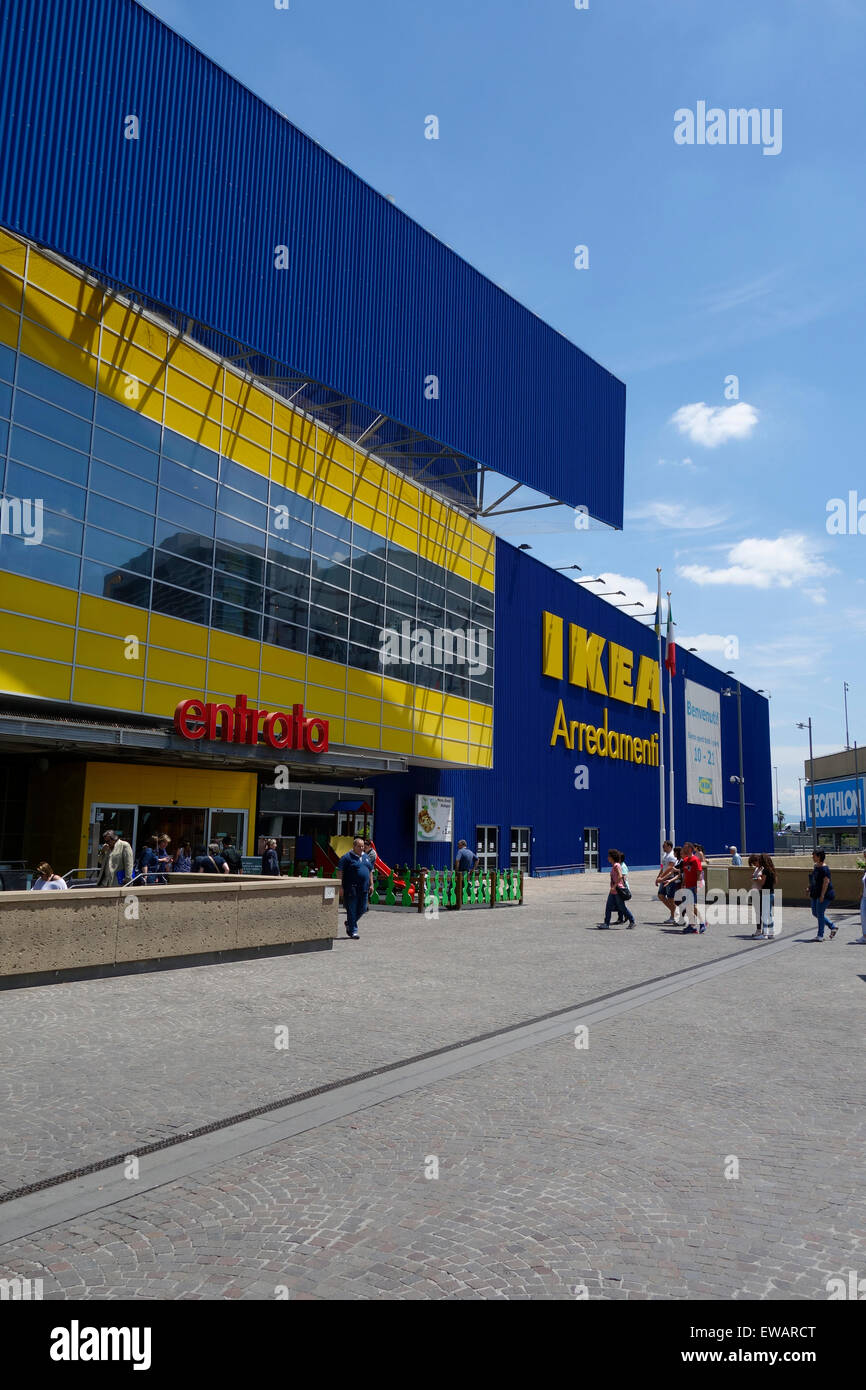 Negozio Ikea A Porta Di Roma Roma Italia Foto Immagine