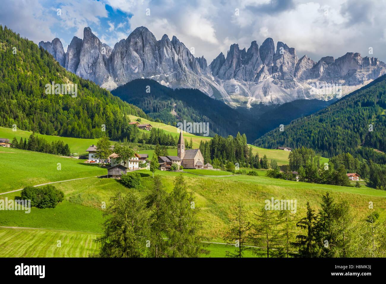 Descrizione Paesaggio Di Montagna