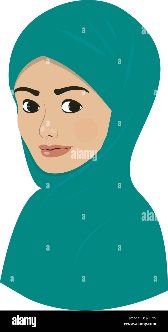 Nurses day cartoon nurse cartoon hospital blue sky, blue sky, white angel festival. Cartoon Girl Hijab Immagini E Fotos Stock Alamy