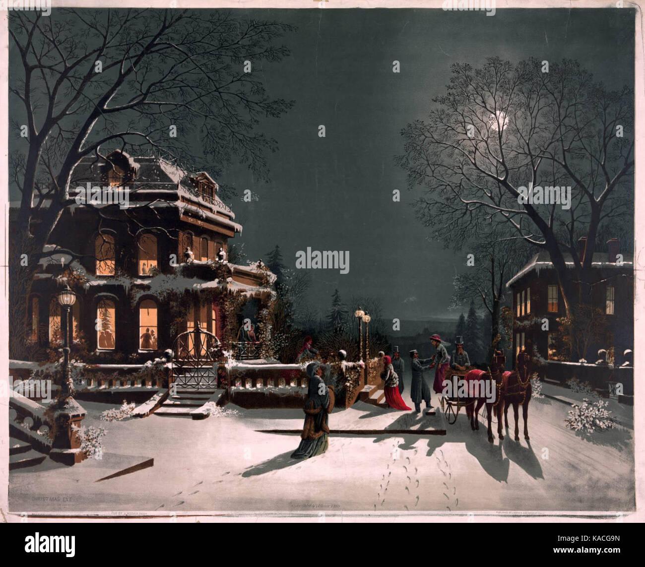 Dalla regina vestita da uomo al veglione della lollo: Cartolina Di Natale Vintage Immagini E Fotos Stock Alamy