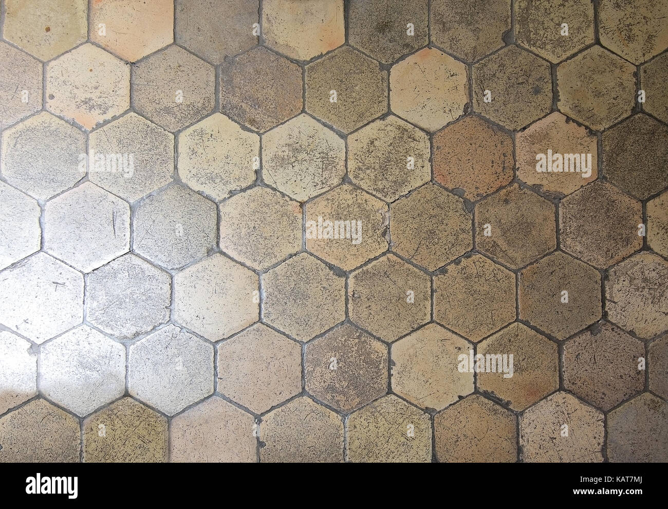 Texture Piastrelle Esagonali Abstract la texture della