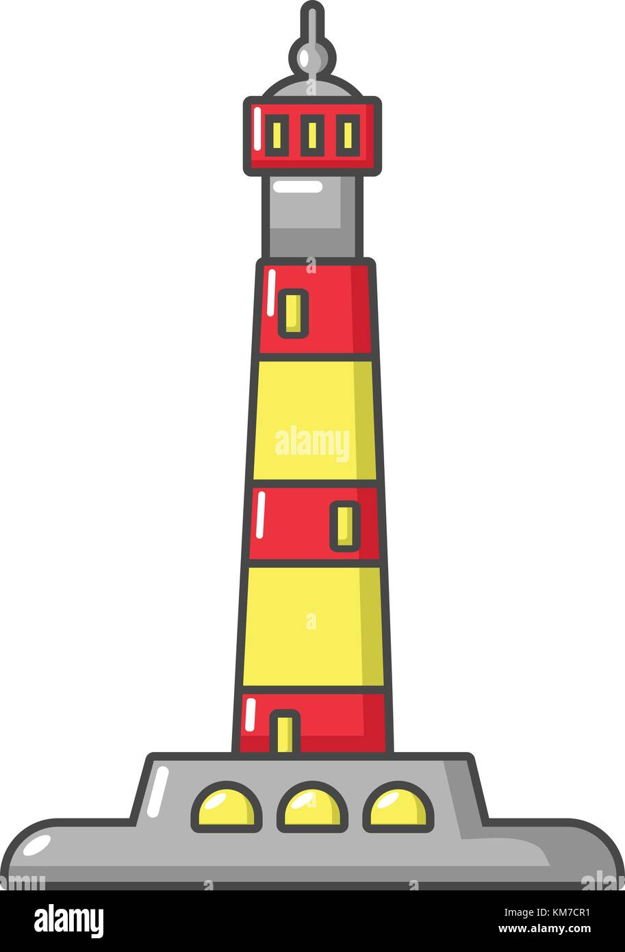 Cartoon Lighthouse Immagini  Cartoon Lighthouse Fotos Stock  Alamy