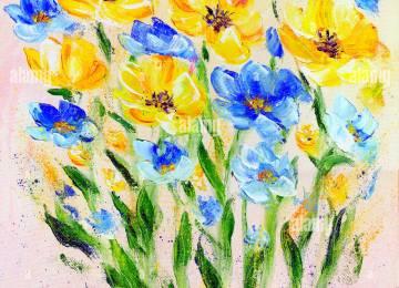 Dipinti Di Fiori Moderni | Dipinti Di Fiori Moderni