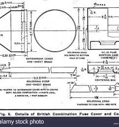 diagramma 6 british n 85 tempo e percussioni fuze 1915 fuze il coperchio e il caso basato su us 21 seconda fuze m1907 fabbricato in noi da betlemme  [ 1300 x 1108 Pixel ]