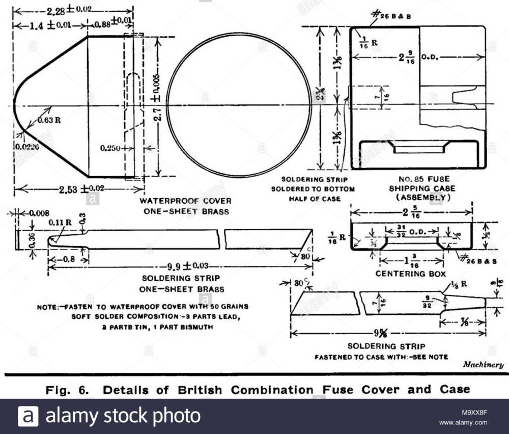 medium resolution of  diagramma 6 british n 85 tempo e percussioni fuze 1915 fuze il coperchio e il caso basato su us 21 seconda fuze m1907 fabbricato in noi da betlemme